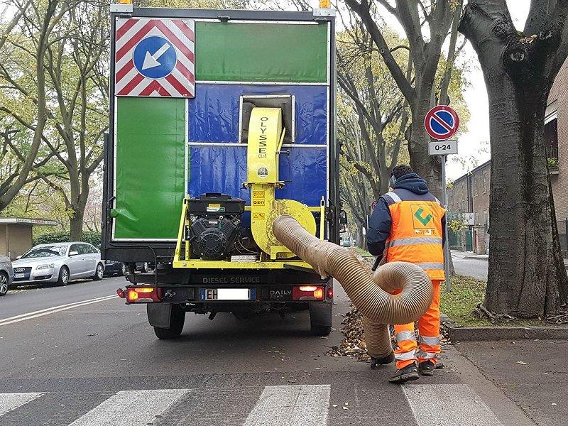 Αναρροφητήρας φύλλων-σκουπιδιών Olysse